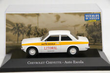 1:43 Altaya Chevrolet Chevette Auto Escola Diecast Toys Car Models Collection