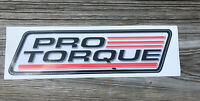 Pro Torque Large Decal Sticker NHRA NASCAR Proline Drag Racing Street Outlaws