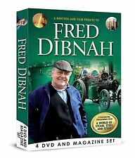 A WRITTEN FILM & TRIBUTE TO FRED DIBNAH 4 DVD & BOOK / MAGAZINE BOX SET