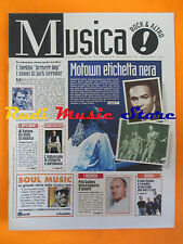 rivista MUSICA! REPUBBLICA 75/1996 Franco Battiato Phil Collins Nirvana  No*cd