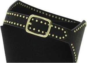 Mossimo A New Day Womens Wide Stretch Belt with Gold Studs