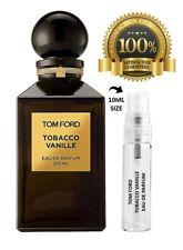 TOM FORD TOBACCO VANILLE 10ML SPRAY SAMPLE EAU DE PARFUM – 100% GENUINE