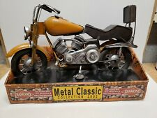 Diamond Metal Classic Collection 2002 Motorcycle Orange and Black, Pre-owned