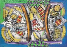 Paolo da San Lorenzo olio su tela  50x70  2006 informale