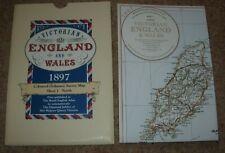 REPRINT 1897 MAP ORDNANCE SURVEY MAP - DURHAM - WEST MORELAND - NORTHUMBERLAND