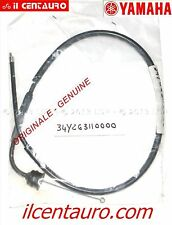 CAVO GAS 34Y-26311-00 YAMAHA DT 125, DT 125 LC ORIGINALE GENUINE THROTTLE CABLE
