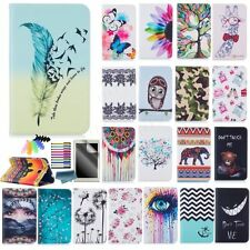 Fashion Patterns Case for Samsung Galaxy Tablets PU Leather Magnetic Stand Cover