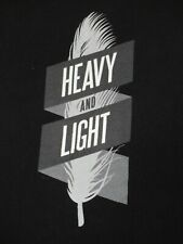 HEAVY AND LIGHT - TO WRITE LOVE ON HER ARMS - MEDIUM BLACK T-SHIRT - V621