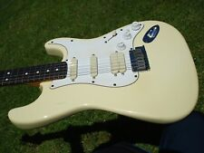 1993 Fender Stratocaster Jeff Beck Signature Model Olympic White Big Neck