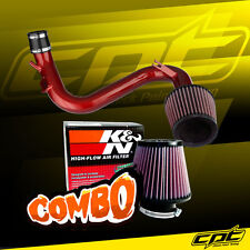 07-13 Mazdaspeed 3 Turbo 2.3L Red Cold Air Intake + K&N Air Filter