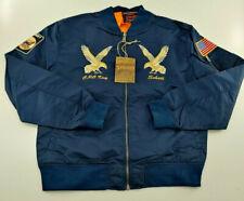 New Men`s Schott NYC MA-1 Nylon Flight Jacket Style 9722 3XL XXXL MSRP $199