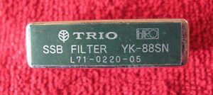 Kenwood 1.8 KHz narrow SSB filter YK-88SN