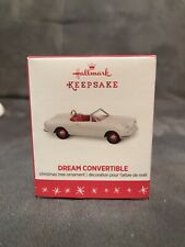 Hallmark 2016 Dream Convertible Miniature Christmas Ornament White Mini
