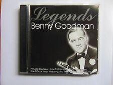 Benny Goodman - Legends - Rare - CD - FREE POST