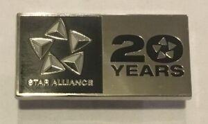 Star Alliance Airline Partnership Lapel Pin Badge United Lufthansa ANA