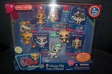 Littlest Pet Shop Welcome Pets  Penquin- Panda- Dog- Rabbit -Tiger 1494-1498