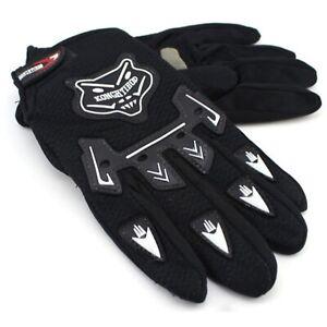 Men's Cycling Gloves - Full Finger Breathable Mountain Bike Gloves Gel Padded