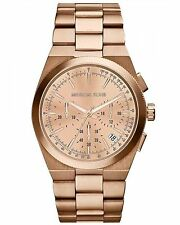 Michael Kors Women's Channing MK5927 Rose-Gold Stainless-Steel Quartz Watch