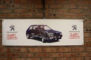 Peugeot 205 GTI 1.9    large pvc  WORK SHOP garauge