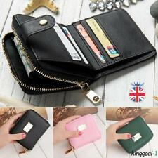 Fashion Womens Girls Leather Wallet Card Holder Coin Purse Clutch Handbag Small
