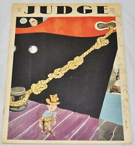 Judge Magazine, June 20, 1931, $0.15 - Vol. 100, No. 2590, Triangle Cruise - F