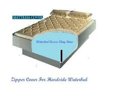 California King Zipper Mattress Cover w/ 12 mil pro max Waterbed Stand Up Liner