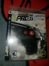 Need for Speed ProStreet (Sony PlayStation 3, PS3, 2007) Complete Manual Case