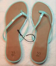 New York & Company  Flip-flap Sandal  Color Turquoise -Size 9   # 5/30-Y