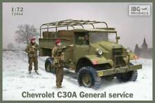 CHEVROLET C30A GENERAL SERVICE (CANADIAN BUILT BRITISH ARMY TRUCK)#54  1/72 IBG