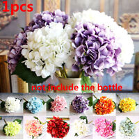 Artificial Flowers Hydrangea Bouquet Flower Wedding Arrangements Home Decors~