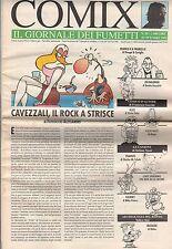 riviste fumetti- COMIX IL GIORNALE DEI FUMETTI Anno 1992 Numero 35