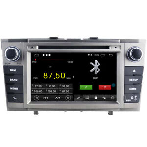 """Navi Car Dvd GPS Radio Player for Toyota Avensis 2009-2014 7"""" Android 10 DSP BT"""