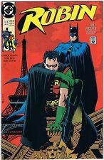 1991 Robin Big Bad World Vol.1 No.1 DC Comic Includes Poster