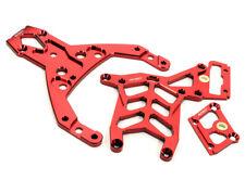 Integy RC Model BAJ163RED Chassis Brace Set (3) for HPI Baja 5B, 5T, 5B2.0 & 5SC