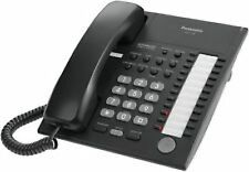 USED PANASONIC KX-T7750 Advanced Hybrid System Phone Black with cable