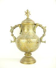 Indes Pot ancien à anses anthropomorphiques India 30 cm cuivre