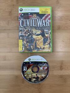 History: Civil War Secret Missions (Microsoft Xbox 360, 2008) - Ships Same Day