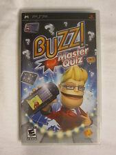 Buzz! Master Quiz (PlayStation Portable, PSP) Brand New, Sealed~