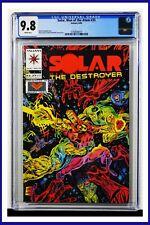 Solar Man Of The Atom #35 CGC Graded 9.8 Valiant August 1994 Comic Book