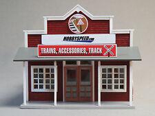 MTH RAIL KING HOBBYSPEED MODEL TRAIN SHOP o gauge hobby downtown building NEW