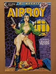 Airboy #5 Valkyrie Dave Stevens cover NM/NM+ Beautiful!!!