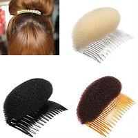HK- Women's Hair Styler Volume Bouffant Beehive Shaper Bumpits Bump Foam Comb Ne