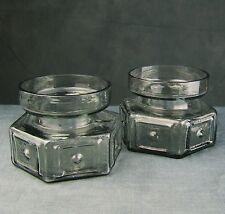 Lovely Frank Thrower designed Dartington candle holders.