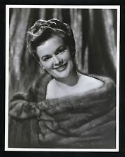 SEXY JEAN HAGEN IN FUR - OVERSIZE DBLWT IN N MINT - 1950'S 10X13 GLAMOR FASHION