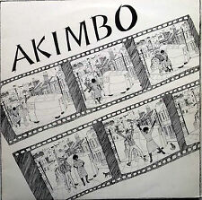 AKIMBO Self titled LP Forward Sounds 01 1984 Excellent