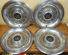 "1977 - 1981 Ford LTD II Wheel Covers 14 "" Hubcaps - Set of 4 78 79 80"
