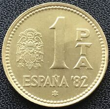 1 Peseta 1980 82 Spanien 🇪🇸 Gedenkmünze 1982 FIFA World Cup