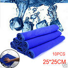 10Pcs Practical Soft Absorbent Wash Cloth Car Care Microfiber Cleaning Towels