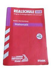 Stark Prüfungsvorbereitung Mathe 2018 Baden-Württemberg