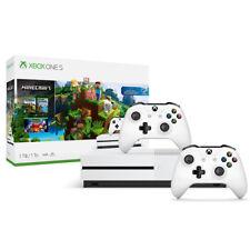 Xbox One S 1TB Minecraft Bundle + Extra Xbox Wireless Controller